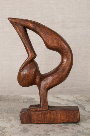 Abstract Wooden Sculpture - Mexicali Blues