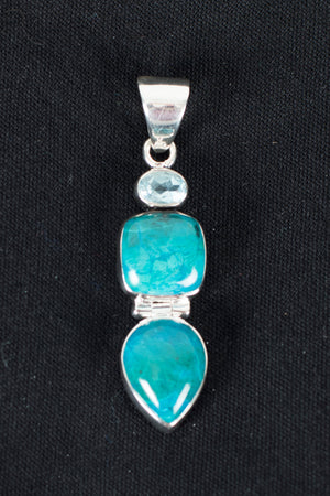 chrysocolla-blue-topaz-pndnt