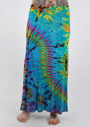 Mudmee Maxi Skirt - Mexicali Blues