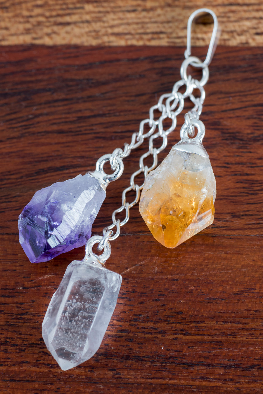 Hanging Crystals Pendant