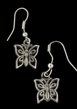 Metal Charm Earrings - Mexicali Blues