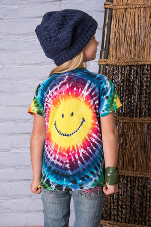 smiley-kids-tie-dye-t
