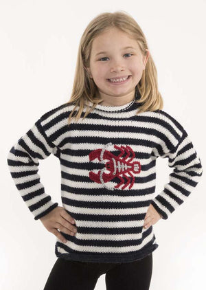 Kids' Lobster Sweater