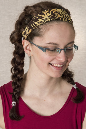 Batik Headband - Mexicali Blues