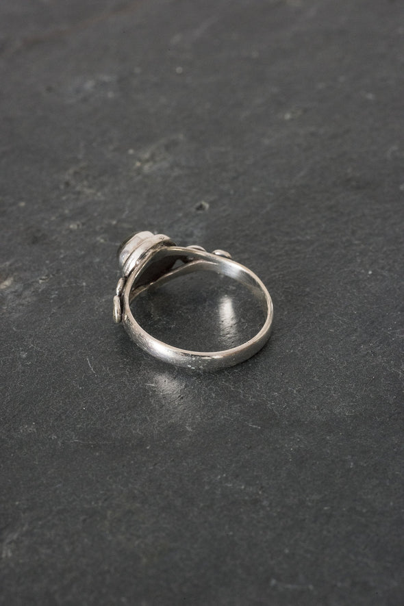 Simple Scroll Ring