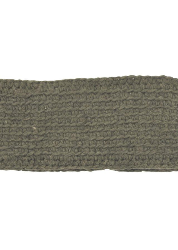 Fleece Lined Headband In Solid Colors - Mexicali Blues