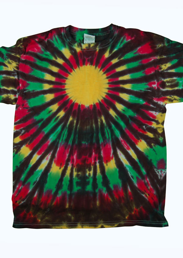 Rasta Burst Kid's Tie Dye - Mexicali Blues