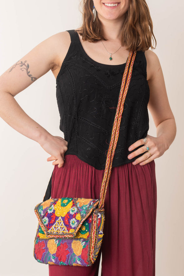 Amara Crossbody Snap Purse