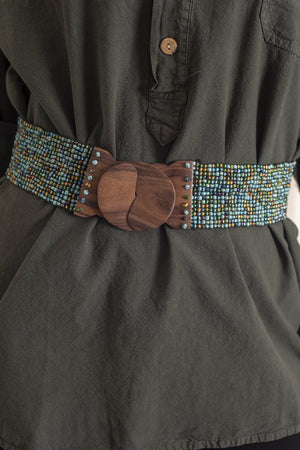Beaded Bali Belt