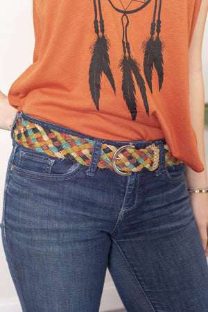 Natural Hemp Belt