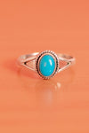 Braided Oval Petit Gem Ring