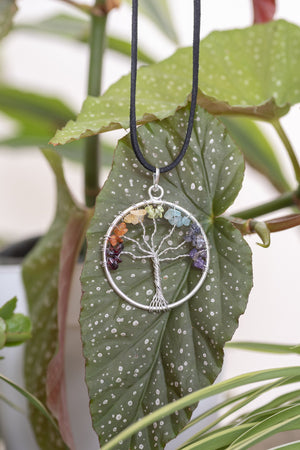 Chakra Tree Of Life Necklace
