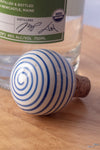 Cork and Ceramic Bottle Stopper
