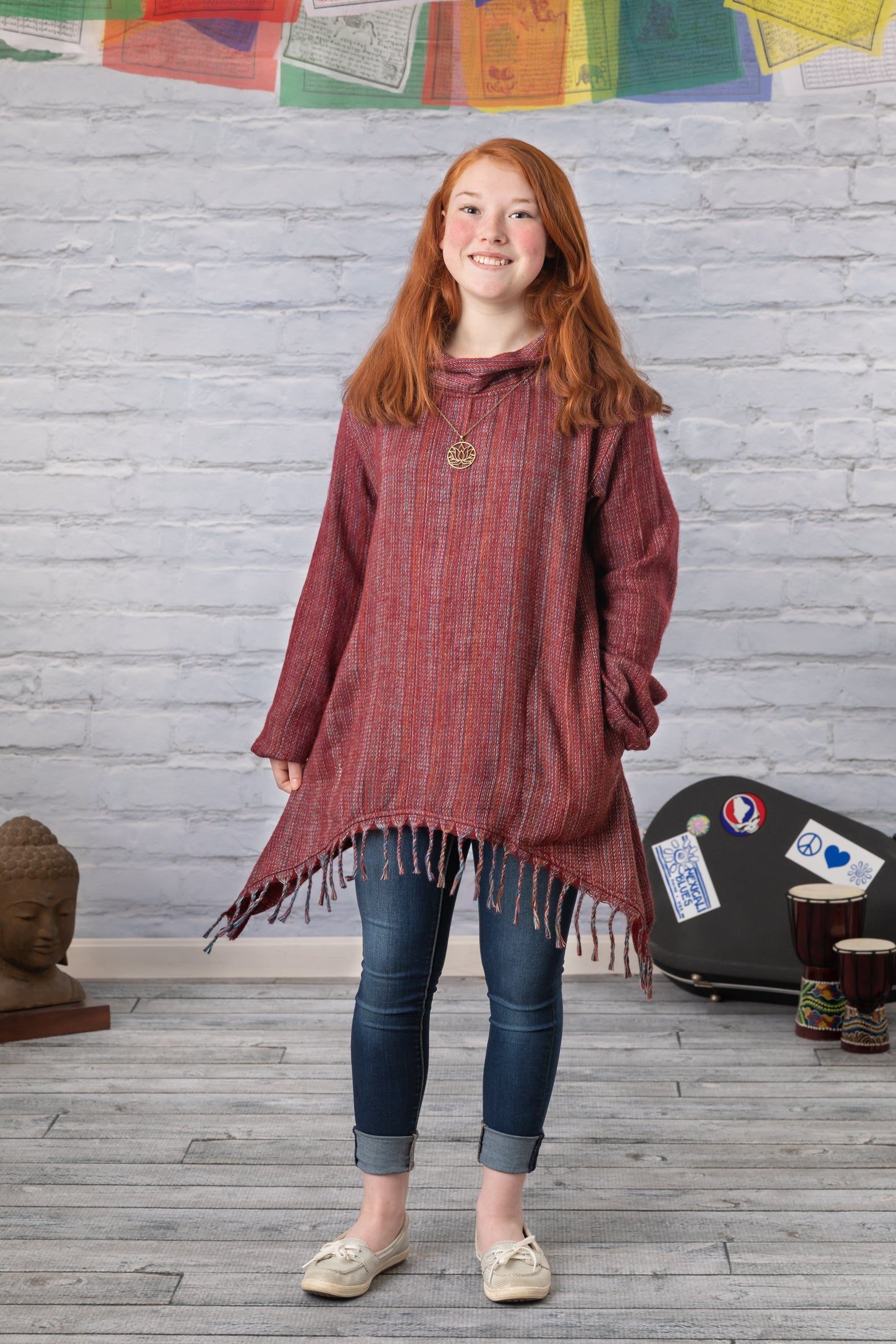Cowl Neck Reo Pullover