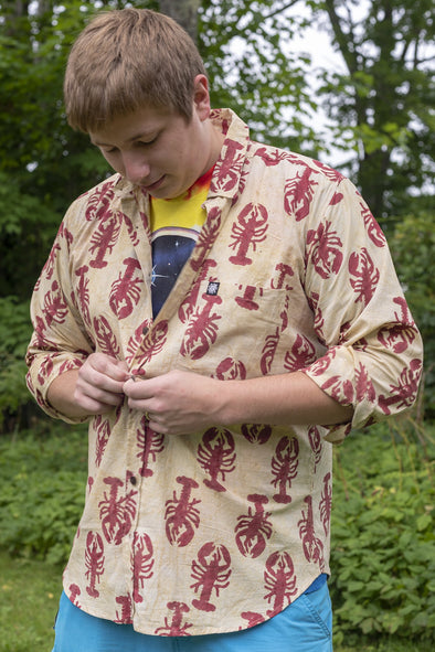 Dharma Block Print Long Sleeve Shirt