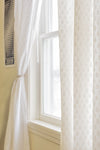 Fern Print Single Panel Curtain