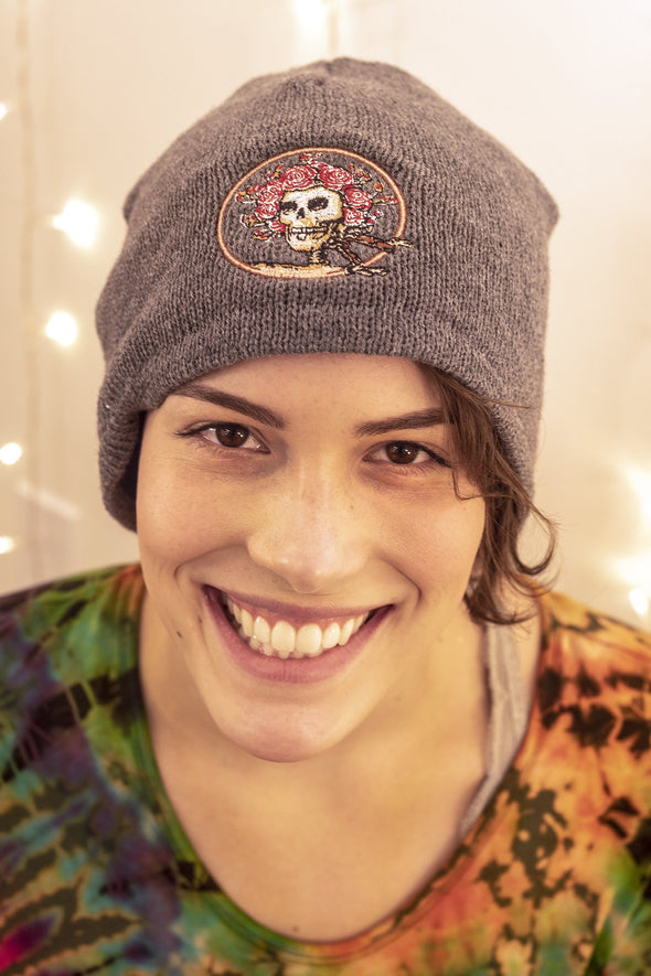 Grateful Dead Embroidered Beanie Hat