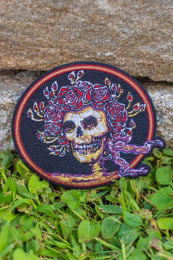 Grateful Dead Iron-On Patch