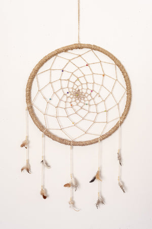 Hemp Dream Catcher