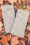 Honeycomb Fingerless Mittens