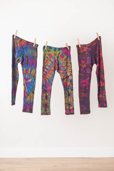 Kids' Tie Dye Leggings