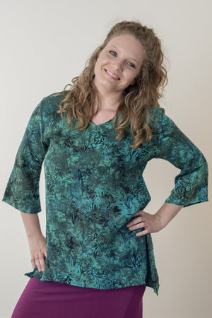 Kimber Batik Tunic - Mexicali Blues