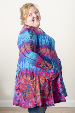 Althea Mudmee Tie Dye Tunic Dress