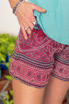 Mandala Market Beach Shorts