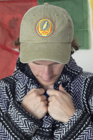 Orange Sun Grateful Dead Baseball Hat