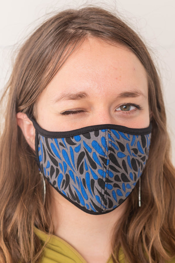 Printed Face Mask with Filter Pocket