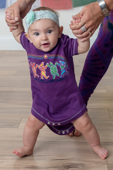 Rainbow Critters Baby One Piece