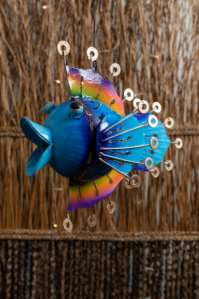 Ring Fin Tin Fish Lantern
