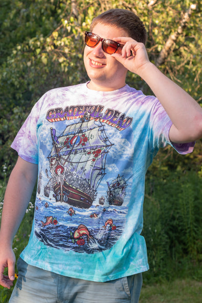 Grateful Dead Ship of Fools Tie Dye
