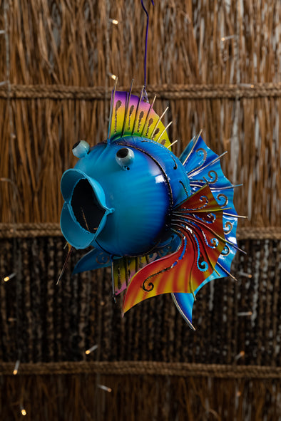 Spike Tin Fish Lantern