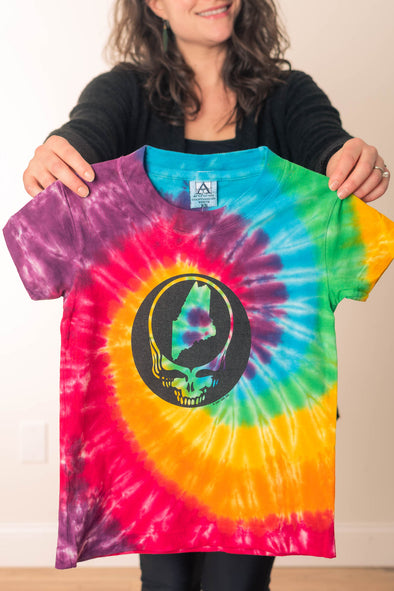 Steal Your State Tie Dye Kids' T