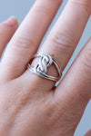 Sterling Celtic Knot Ring