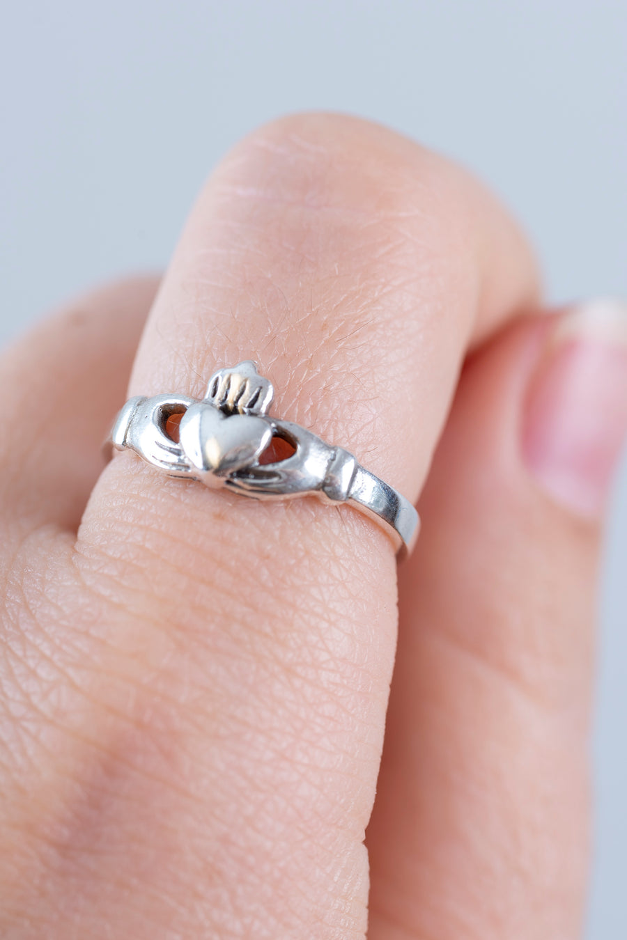 Sterling Claddagh Ring