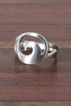 Sterling Riptide Ring