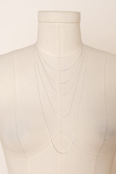 Sterling Silver Necklace Thin Chain