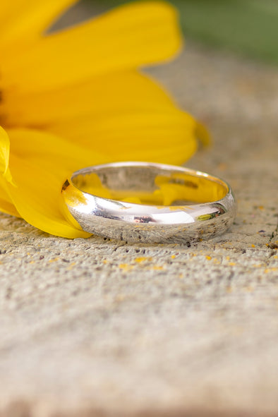 Sterling Wedding Band