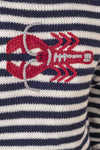 Striped Lobster Sweater