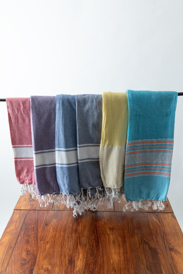 Striped Hand Loomed Sarong
