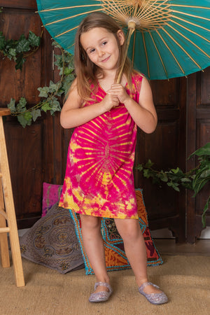 Tie Dye Josie Tank Dress