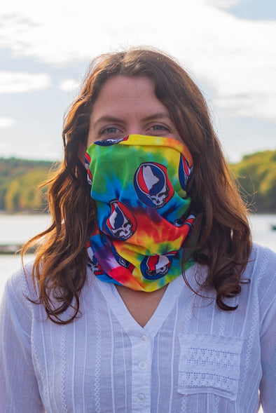 Tie Dye Steal Your State Neck Gaiter