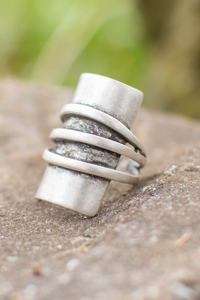 Tubular Trio Adjustable Zamak Ring