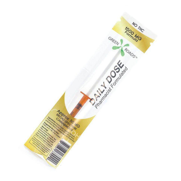 CBD Daily Dose Syringes
