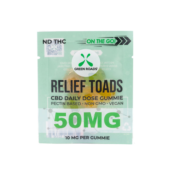 CBD Relief Toads OTG – 50 MG