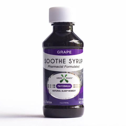 CBD Grape Soothe Syrup – 60 MG