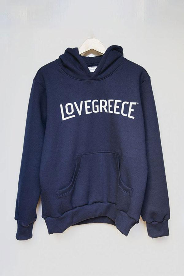 The Lovegreece Hoodie™ – Women / Hoo – Navy