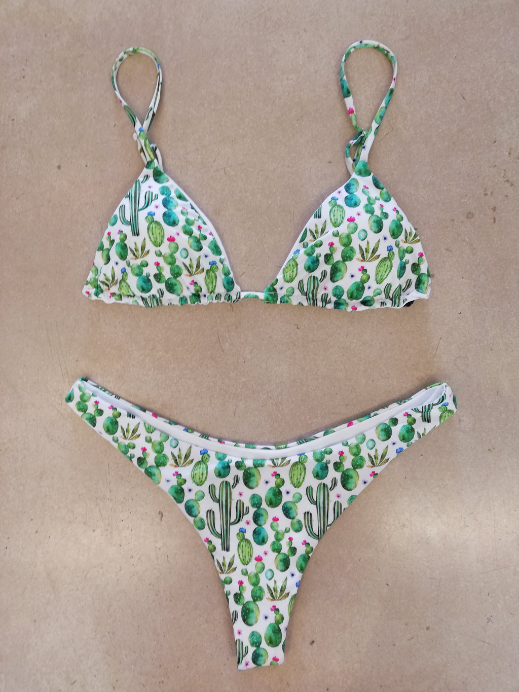 Triangle Bikini Prickly Plants